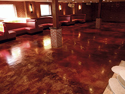 Franklin Steakhouse Specialty Surfaces, Sparta, N.J.