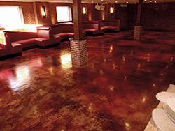 L m scofield 2011 decorative concrete award winners - Scofield revive exterior concrete stain ...