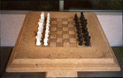 Concrete Chess Board created by Urban Concrete Design
