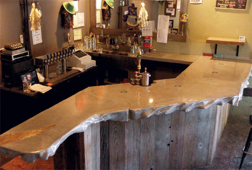 Brilliant Concrete Bar Tops Concrete Decor