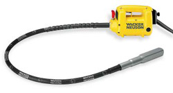 Wacker Neuson Corp. - Vibrator for concrete yellow