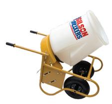 Gilson Mixers by Marshalltown Tool Co. - 59000D Portable Wheelbarrow