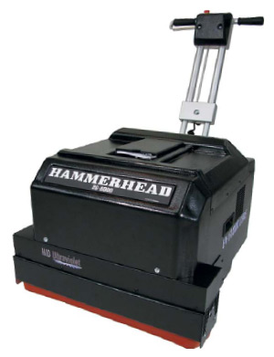 : The HID Ultraviolet Hammerhead 26-8000A, a floor-curing unit.