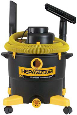 Three independent motors. (866) 295-5512 www.diamaticusa.com Dustless Technologies - The Dustless HEPA Wet/Dry Vacuum