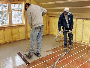 Tips On Getting The Most From Your Radiant Heat Floors Concrete Decor - How to do radiant floor heating